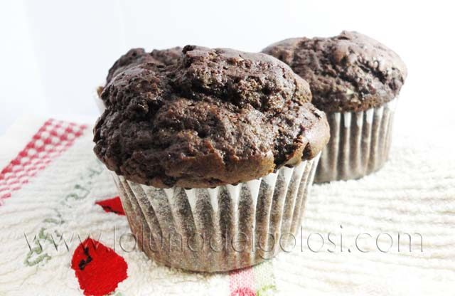 Muffin alle carrube